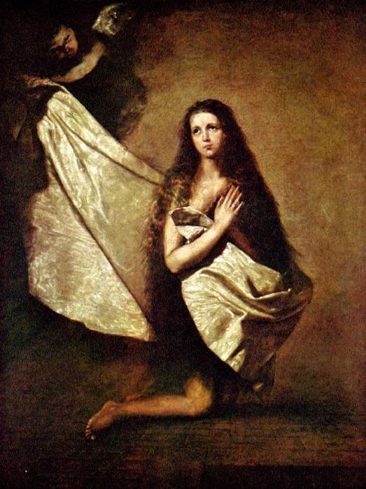 Santa Inés. (José de Ribera_ Lo Spagnoletto). S. XVII