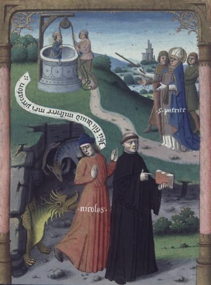 San Patricio en el Purgatorio. Leyenda aurea. Bx J. de Voragine. XV.