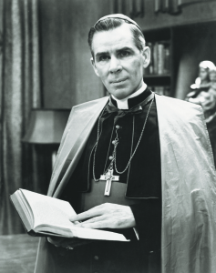 Memorial Masses are scheduled worldwide Dec. 9 for Archbishop Fulton J. Sheen's sainthood cause. The famed radio and television host and author is pictured in an undated file photo. (CNS file photo) (Nov. 12, 2009) See SHEEN-MASSES Nov. 12, 2009.