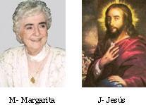Margarita la Pequeña Alma y su Jesús