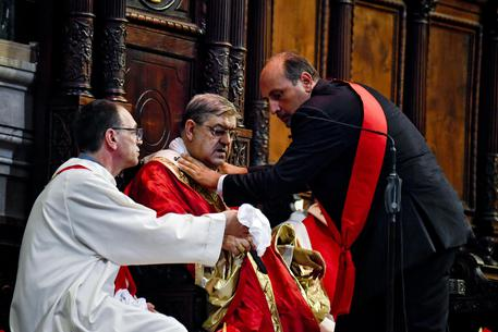 ++ San Gennaro:Napoli; malore per Sepe durante solennità ++